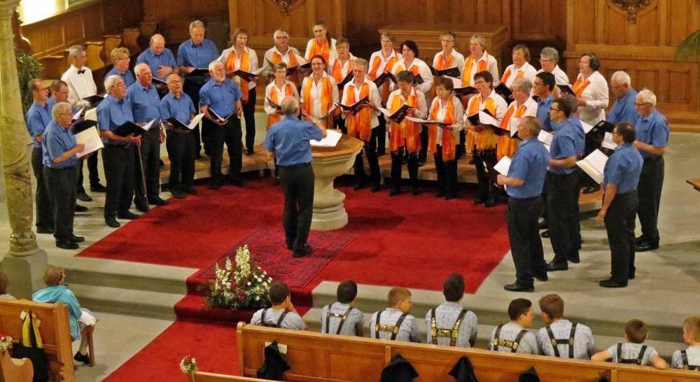 Kirchenkonzert in Gais